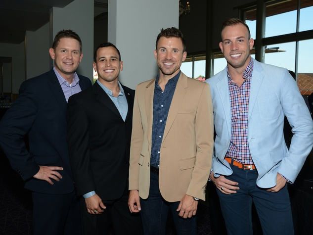 David Sassano, Calen Bedford, Jarrod Freeman, Cameron Wetzel, Black Tie Dinner, HBO