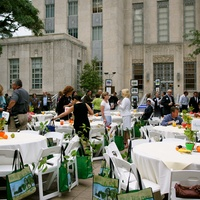 News_Earth Day breakfast_April 2012_venue_crowd