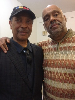John Guess Jr. left and Danny Simmons, January 2013