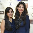 14 Sabeen Syed, left, and Zehra Abbas at the International Mother's Day Soiree May 2014