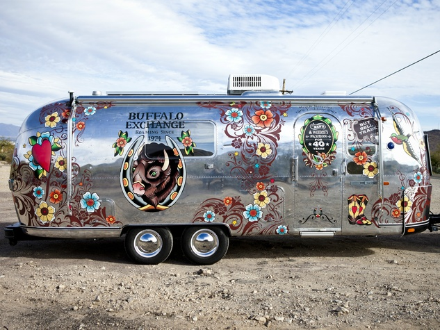 Buffalo Exchange Airstream