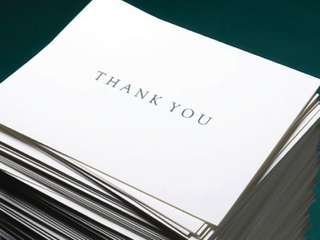 News_Thank you note