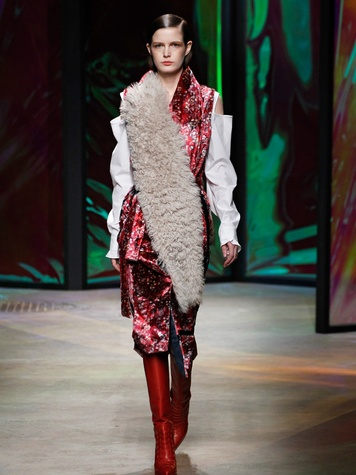 Clifford New York Fashion Week fall 2015 Thakoon April 2015 Look13