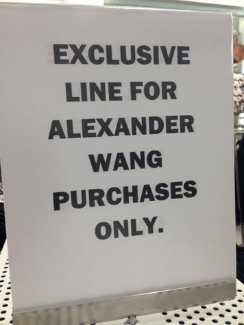 H&M Houston Galleria Opening/Alexander Wang