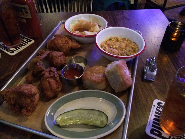Punk's Simple Southern Food fried chicken