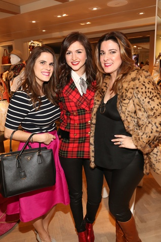 Elaine Turner with NYC Bloggers Elena Vumir of A New York Love Affair and Alexandra Dieck of Lexicon of Style