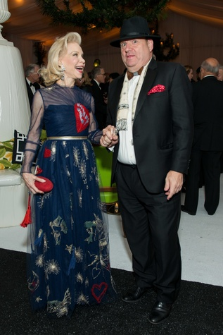Jones Hall 50th Ball, Lynn Wyatt and Perryn Leech
