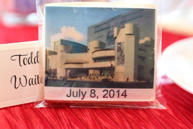 7 Cookie at the Alley Theatre groundbreaking luncheon July 2014
