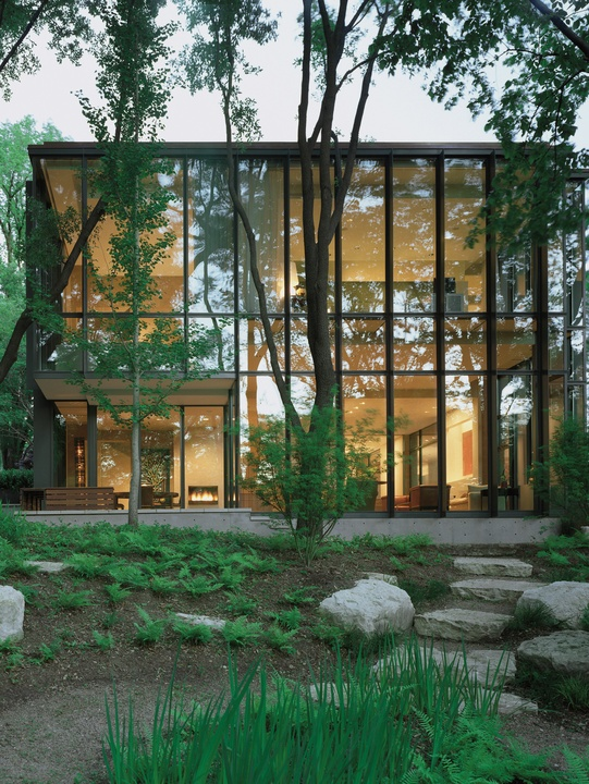 House On The Potomac For Dallas Modern