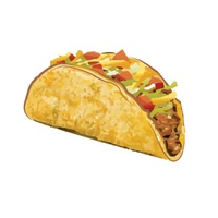 regular taco Taco Text emoji