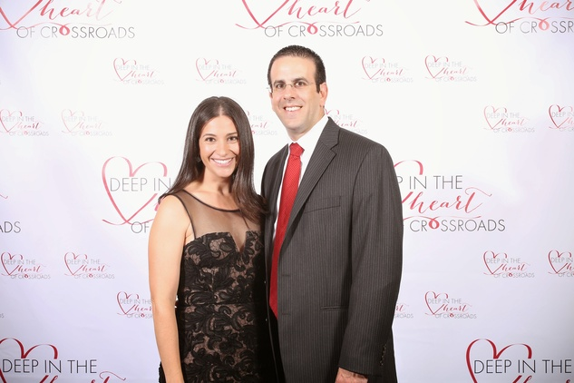Dena and Brian Miller at the Crossroads Gala June 2014