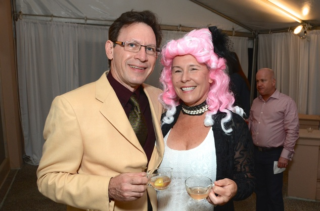 Marty and Martha Kaminsky at the Rienzi Punch Party October 2014