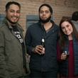 Eric Castro, Pablo Rivera, Taylor DeLuca at Unbranded final happy hour