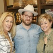 Julie Palmacci, Jason Lenox, owner, Antek's a nd host; Roxie Nichols, Friends of Wednesday's Child
