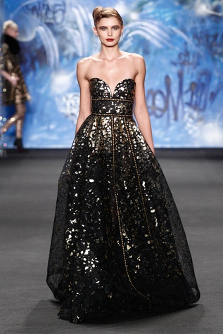 Naeem Khan fall 2015 collection look 1