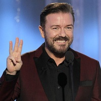 News_Golden Globes_January 2012_Ricky Gervais