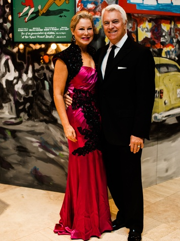 Cathy Phillips, Scott Phillips at Crystal Charity Ball 2013