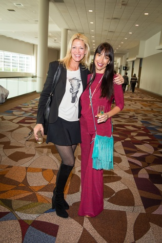 8 Karisa Gallucci, left, and Cindy Kraus at the Nutcracker Market Macy's luncheon November 2014