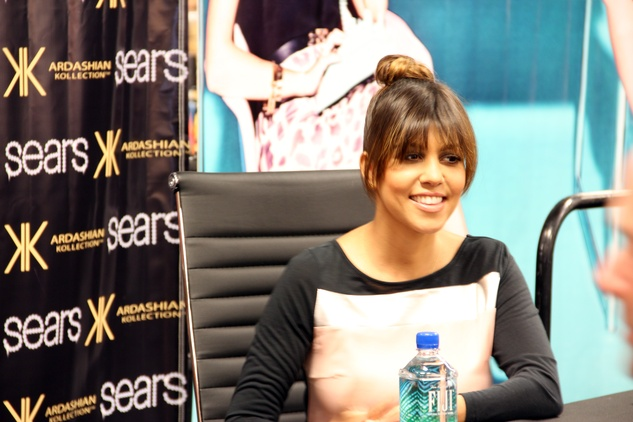 Kourtney Kardashian at Sears Willowbrook Mall in Houston May 2013