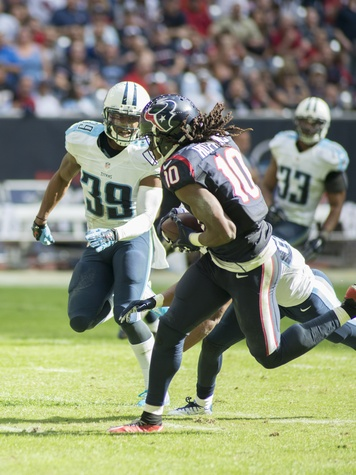 12 Texans vs. Titans first half November 2014 DeAndre Hopkins 10