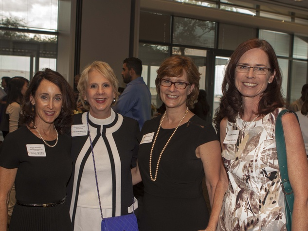 Peggy Matthews, Christine LaFollette and others at Human Rights First office launch