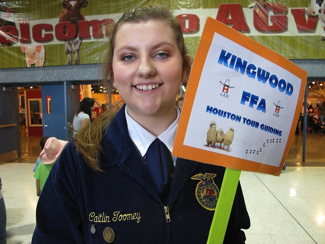 Katie Oxford Houston Rodeo FFA March 2015 Caitlin Toomey