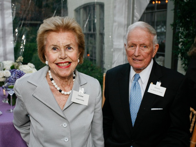 5 Louise and Dr. Denton Cooley at Fraser's Friends dinner