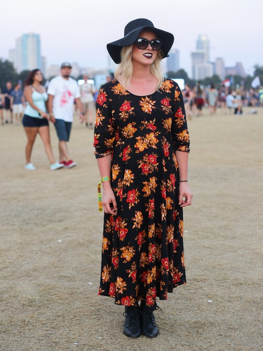 Austin City Limits Festival ACL 2015 Street Style Madison Taylor