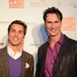 Brandon Weinbrenner, left, and Todd Waite at the Houston Cinema Arts Festival opening night party November 2013
