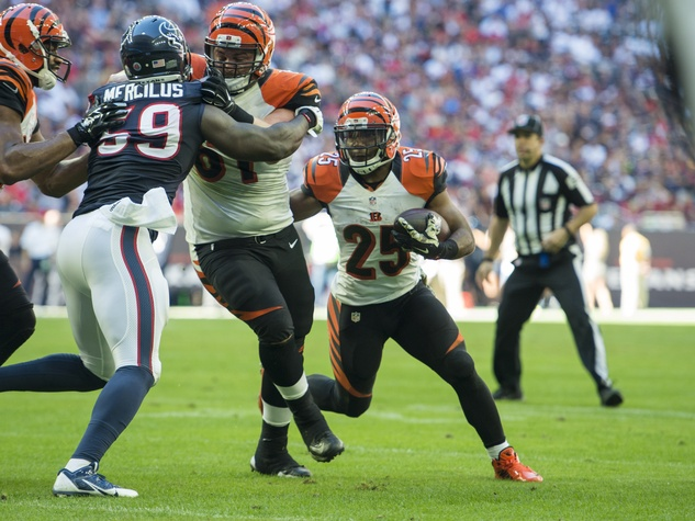 11 Texans vs. Bengals first half November 2014 Bengals 25