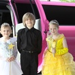 M.D. Anderson event at the Proton Center, Julia Cobb, Pix of the Day, April 2013, Cobb, siblings, limo