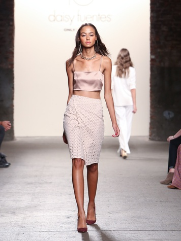 Fashion Week spring summer 2014 Daisy Fuentes Look 20
