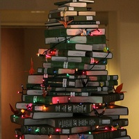 Austin photo: News_Book Christmas Tree