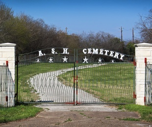 Austin State Hospital ASH Cemetery 2017