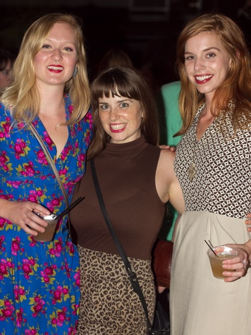 Fashion Freakout 6 at Hotel Vegas in Austin Sara Houser Meg Dwyer Jessica Thompson
