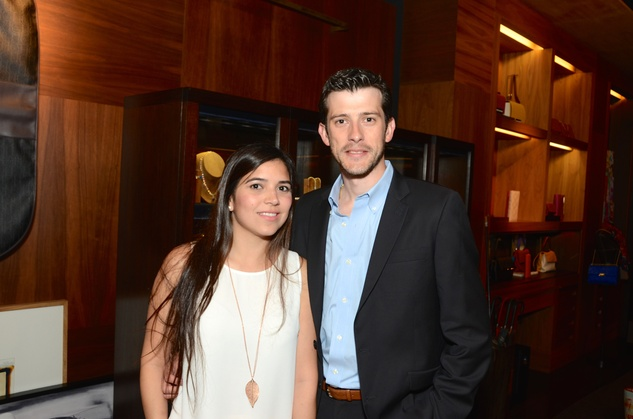 News, Shelby, Latin Women's Initiative reception, May 2015, Marzia and Gustavo Fejervary