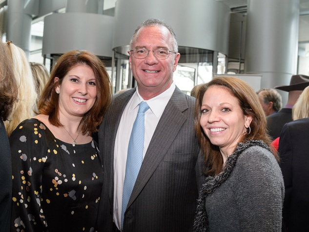 Christina Sacco, from left, Yance Montalbano and Julie Sacco at the Trailblazer Awards Luncheon February 2014.