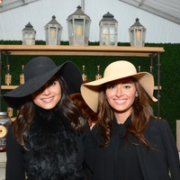 Sarah Jawda, left, and Saba Jawda at the Butler Brothers party November 2014