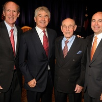 15 Marc Shapiro, from left, Murry Bowden, Bill Morgan and Michael Morgan at the Guardian luncheon November 2013