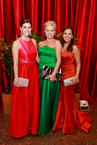 49 Camille Connelly, from left, Audrey White and Julie Chen Houston Grand Opera Ball April 2015