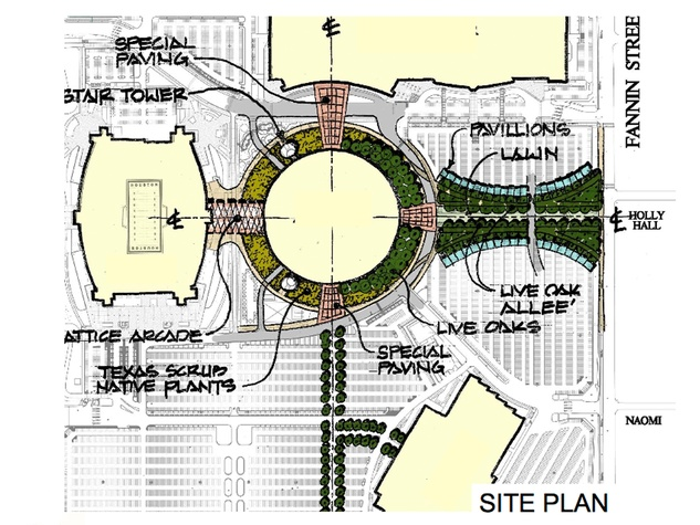 ULI Recommendations for the Astrodome December 2014 site plan