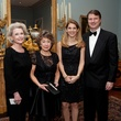 Patti Burke, from left, Fran Fauntleroy and Elise and James Reckling at the Rienzi Society dinner January 2014