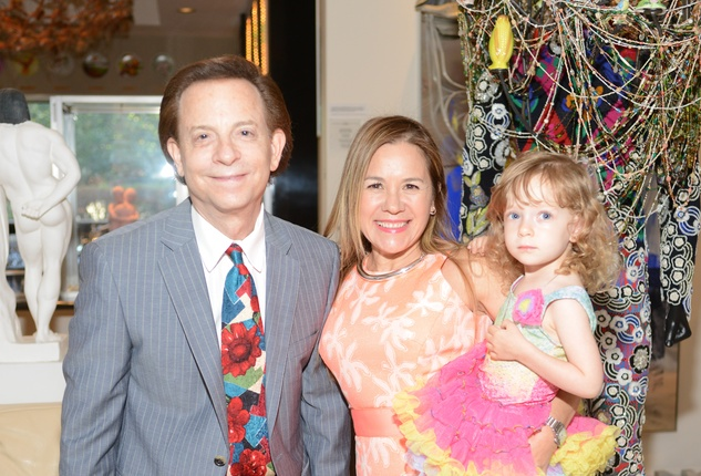 17 Lester Marks and Penny Gonzalez Marks at the Christofle event June 2014