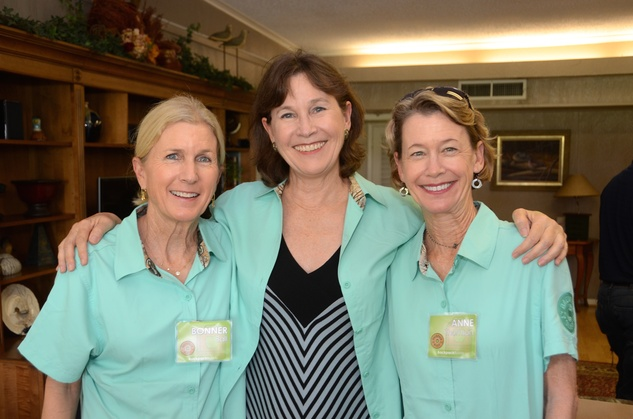 24 Bonner Ball, from left, Virginia Sewell and Anne Thomson at the Backpack Buddies sport shooting event September 201