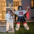 30 Johnny McCormack and Kristi Wells at the Texans White Party September 2014