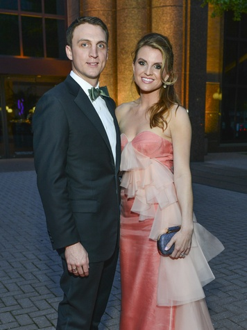 7 Jason and Lindley Arnoldy at the Opera Ball April 2014.