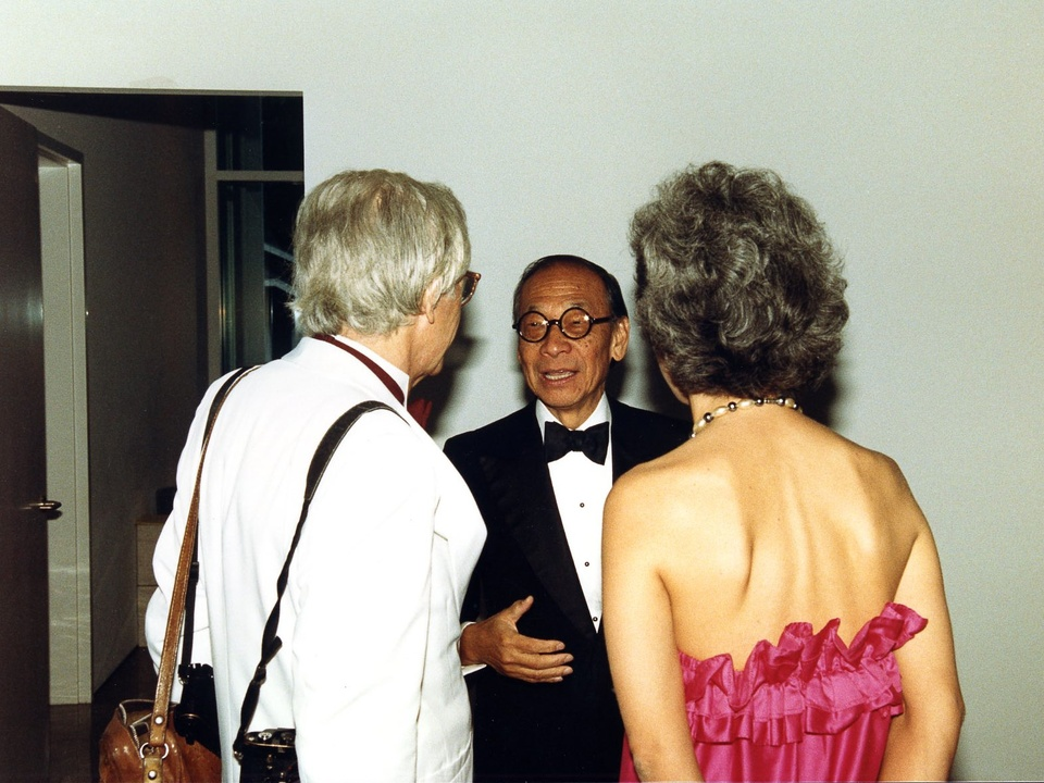 News_06_The Menil Collection opening, June 3, 1987_I.M. Pei