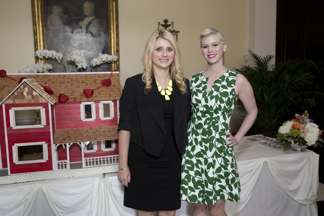 Houston, Spaulding for Children Luncheon, May 2015, Christine Falgout, Kimberly Falgout