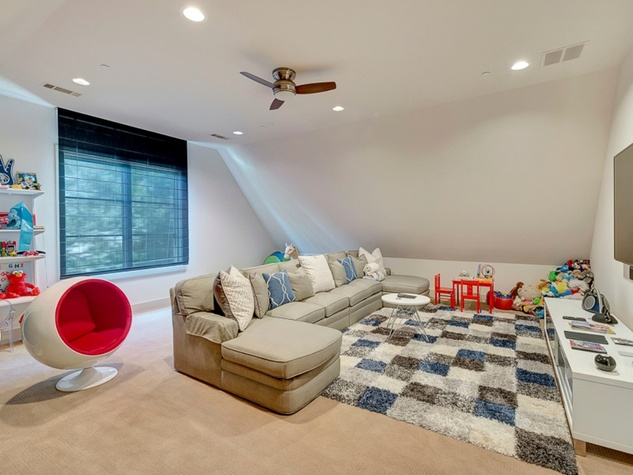 Playroom at 3417 Villanova in Dallas