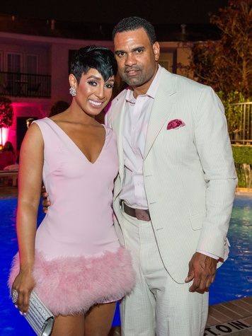 23 Brandi Holmes and Samuel Williamson at the Pink Party at Hotel ZaZa July 2014